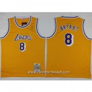 Maglie nba bambino Los Angeles Lakers KOBI BRYANT #8 giallo