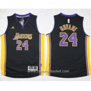 Maglie nba bambino Los Angeles Lakers KOBI BRYANT #24 nero
