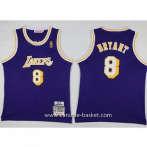 Maglie nba bambino Los Angeles Lakers KOBI BRYANT #8 porpora