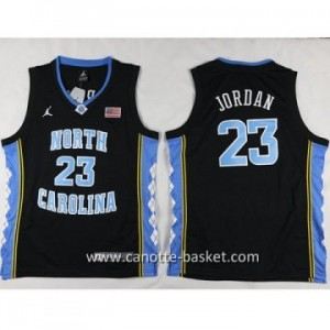 Maglie nba bambino University of North Michael Jordan #23 nero