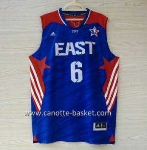 Maglie 2013 All-Star LeBron James #6 blu