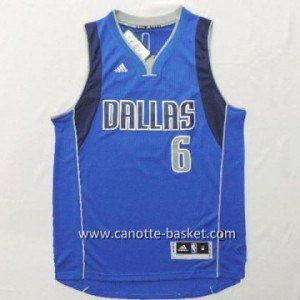 Maglie nba Dallas Mavericks Tyson Chandler #6 blu