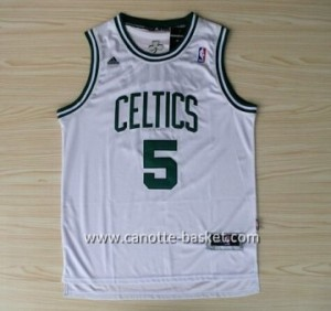 Maglie nba Boston Celtics Kevin Garnett #5 bianco