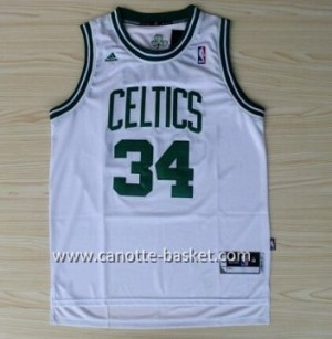 Maglie nba Boston Celtics Paul Pierce #34 bianco