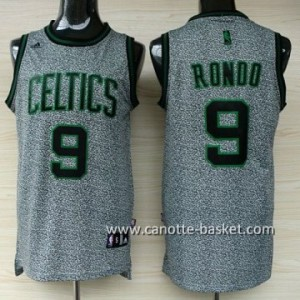 Maglie nba Boston Celtics Rajon Rondo #9 Statico Fashion