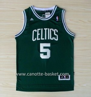 Maglie nba Boston Celtics Kevin Garnett #5 verde
