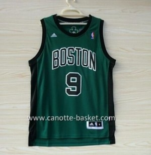 Maglie nba Boston Celtics Rajon Rondo #9 verde nero Word