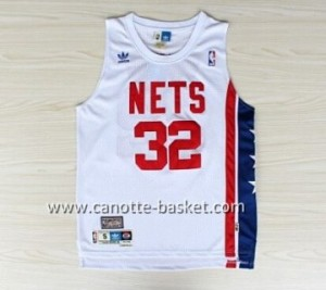 Maglie nba Brooklyn Nets ABA Julius Erving #32 bianco