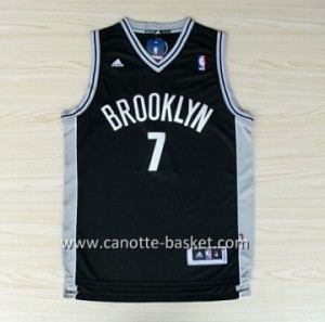 Maglie nba Brooklyn Nets Larry Johnson #7 nero