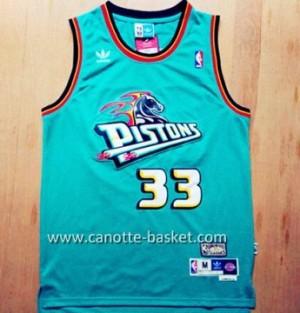 Maglie nba Detroit Pistons Grant Hill #33 blu