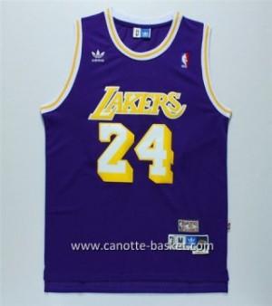 Maglie nba Los Angeles Lakers Kobe Bryant #24 Retro porpora