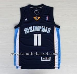 nuovo Maglie nba Memphis Grizzlies Mike Conley #11 blu marino