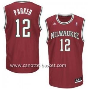 Maglie nba Milwaukee Bucks Jabari Parker #12 rosso