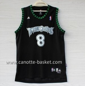 Maglie nba Minnesota Timberwolves Latrell Sprewell #8 nero