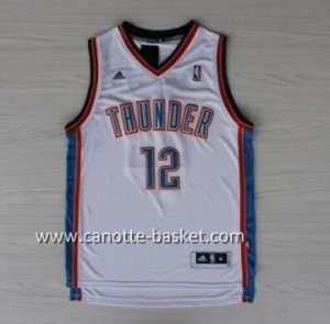 Maglie nba Oklahoma City Thunde Steven Adams #12 bianco