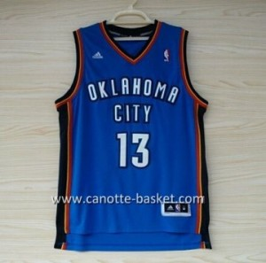 Maglie nba Oklahoma City Thunde James Harden #13 blu