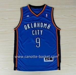 Maglie nba Oklahoma City Thunde Serge Ibaka #9 blu