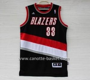nuovo Maglie nba Portland Blazers Scottie Pippen #33 nero