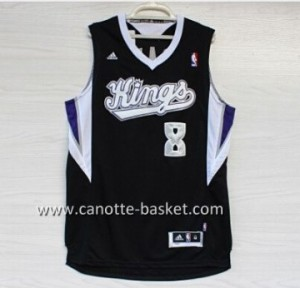 Maglie nba Sacramento Kings Rudy Gay #8 nero