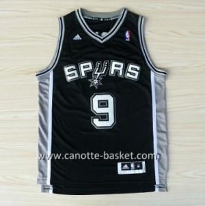 Maglie nba San Antonio Spurs Tony Parker #9 nero