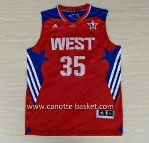 Maglie 2013 All-Star Kevin Durant #35 rosso