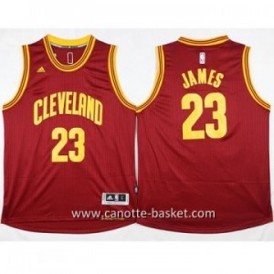 Maglie nba Cleveland Cavalier LeBron James #23 rosso