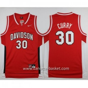 Maglie nba NCAA Golden State Warriors Stephen Curry #30 rosso University