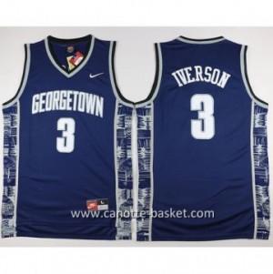 Maglie nba NCAA Philadelphia 76ers Allen Iverson #3 blu