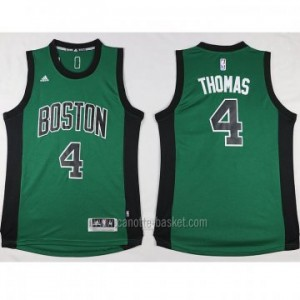 nuovo Maglie nba Boston Celtics Isaiah Thomas #4 verde