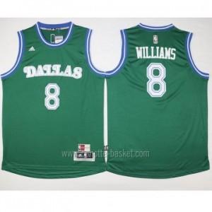 nuovo Maglie nba Dallas Mavericks Deron Williams #8 verde