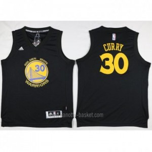 nuovo Maglie nba Golden State Warriors Stephen Curry #30 nero