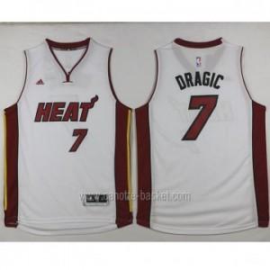 nuovo Maglie nba Miami Heat Goran Dragic #7 bianco