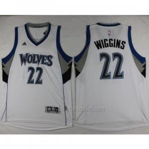 nuovo Maglie nba Minnesota Timberwolves Andrew Wiggins #22 bianco