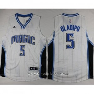 nuovo Maglie nba Orlando Magic Victor Oladipo #5 bianco
