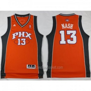 nuovo Maglie nba Phoenix Suns Steve Nash #13 arancione