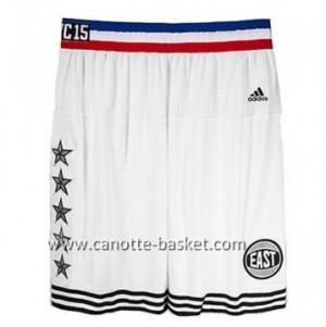 pantaloncini nba 2015 All-Star bianco
