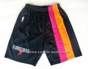 pantaloncini nba Miami Heat nero