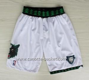 pantaloncini nba Minnesota Timberwolves Retro bianco