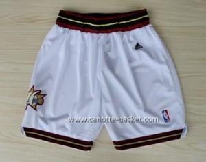 pantaloncini nba Philadelphia 76ers bianco