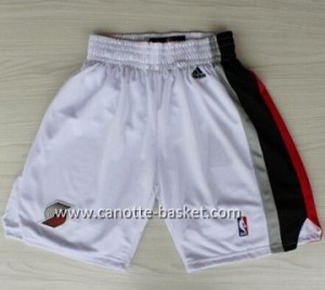 pantaloncini nba Portland Blazers bianco