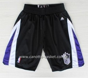 pantaloncini nba Sacramento Kings nero