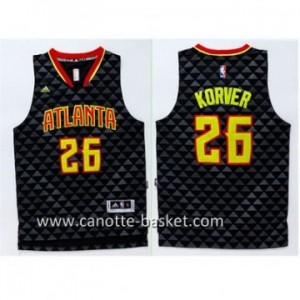 Maglie nba Atlanta Hawks Kyle Korver #26 nero