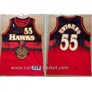 Maglie nba Atlanta Hawks Dikembe Mutombo #55 rosso