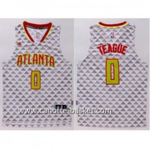 Maglie nba Atlanta Hawks Jeff Teague #0 bianco
