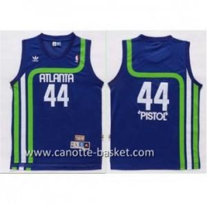 Maglie nba Atlanta Hawks PISTOL #44 blu