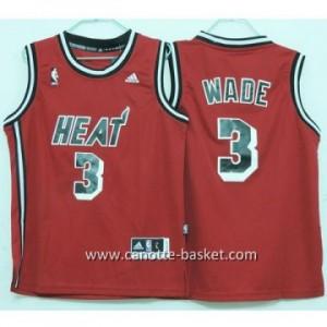 Maglie bambino Miami Heat Dwyane Wade #3 rosso