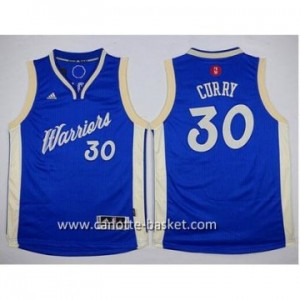 Maglie nba bambino Golden State Warriors bianco Stephen Curry #30 Christmas Edition