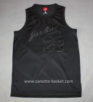 Maglie nba Michael Jordan #23 grigio commemorative Edition