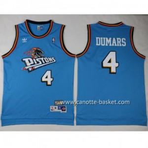 Maglie nba Detroit Pistons Joe Dumars #4 verde