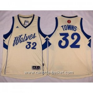 Maglie nba 2015-2016 Natale Minnesota Timberwolves Karl-Anthony Towns #32